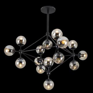 Art Decor Glass Ball Pendant, 15 Light