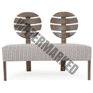 Chelsea Showwood Two Seater Accent Seating