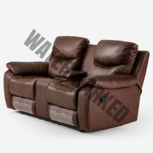Christopher 2-Seater Cinema Recliner – Cinnamon