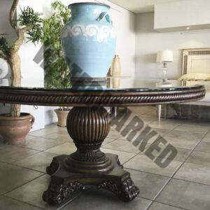 Classical Round Detail Entrance Table