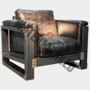 Crusader Armchair Closed Arm