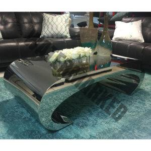 Curved Sides Coffee Table