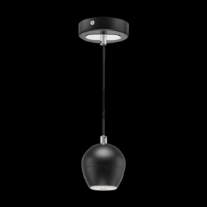Aluminium Bubble Single Pendant Black