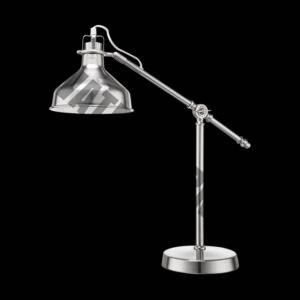 Angle Poise Desk Lamp, Nickel Satin