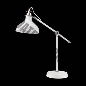 Angle Poise Desk Lamp, White