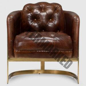 Heston Chesterfield Armchair
