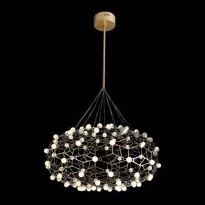 LED Golden Honeycomb Pendant