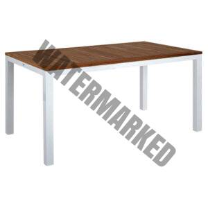 Mediterranean Teak Top Dining Table