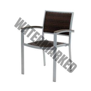 Mediterranean Wicker Dining Arm chair