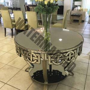 Mirrored Entrance Table