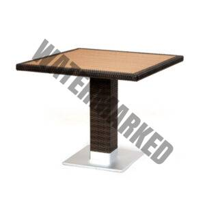 Piazza Techno Wood Table