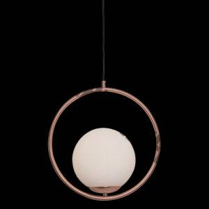 Pearl Dome Light Rose Gold