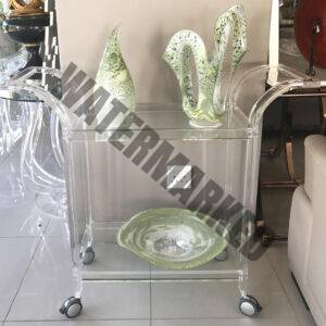 Perspex Drinks Trolley