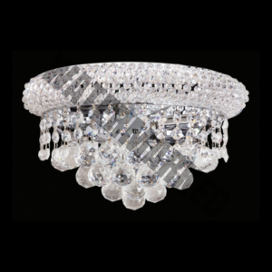 K9 Crystal Basket Wall Light