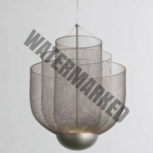 Steel Wire Pendant