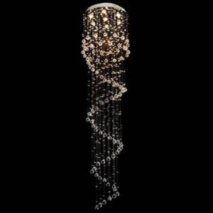 Spiral Asfour Crystal Chandelier