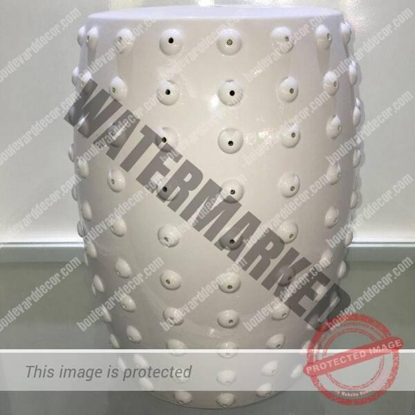 White Stool A