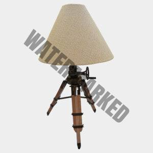 Beacon Wicker Tripod Table Lamp