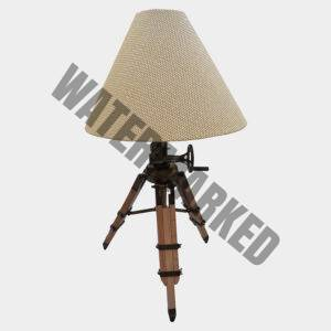 Beacon Wicker Tripod Table Lamp – Adjustable
