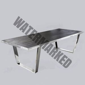 Wattou Dining Table Stainless Steel