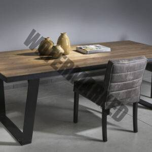 Wattou Dining Table Black