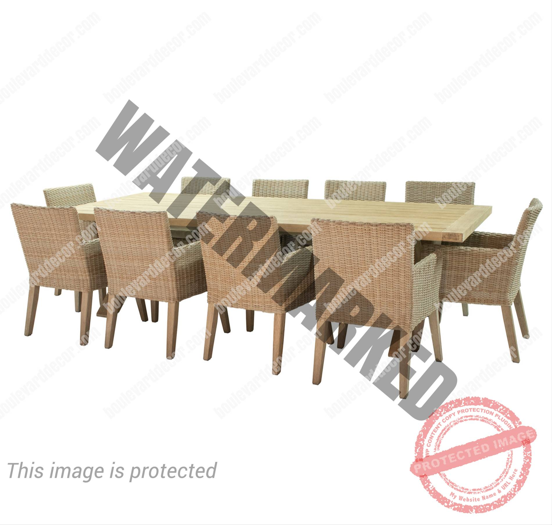 Gryphon 10 Seater Dining Set