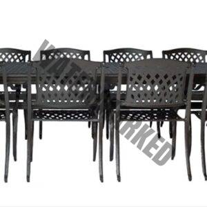 norman hammered bronze set 10 seater