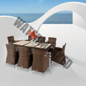 T-TWO Patio Dining Collection with Loungers